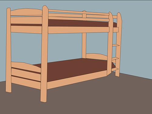 Bed maken van steigerhout for Bed van steigerhout maken